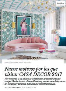 AD Online - Casa decor 2017