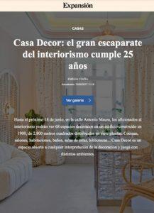 Expansion Online - Casa decor 2017